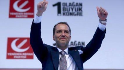Yeniden Refah Partisi Genel Başkanı Erbakan'dan Ayasofya açıklaması