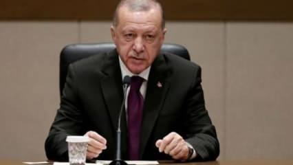 Erdoğan toplantıda tepki gösterdi: Bu nasıl olur!
