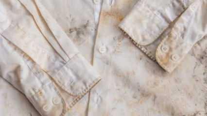 Pas lekesi nasıl çıkarılır? Kıyafetlerden Pas lekesini temizleme yöntemleri