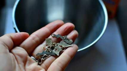 Küpeler nasıl dezenfekte edilir? Paslanmış küpeleri temizlemenin yolları