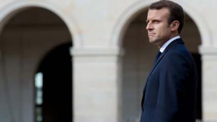 Macron'a Londra'da büyük şok: Katil Macron