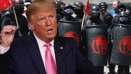 ABD'de 'iç teröristler' şehri ele geçirip özerklik ilan ettiler! Trump'tan çok sert açıklama