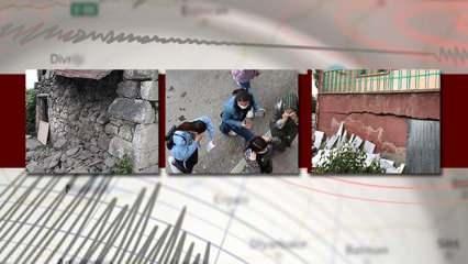 Son dakika: Bingöl'de şiddetli deprem! Erzurum, Diyarbakır, Muş ve Elazığ da hissetti!