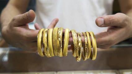 16 Haziran altın fiyatlarında dalgalanma sürüyor? Çeyrek Altın Gram Altın alış satış fiyatları