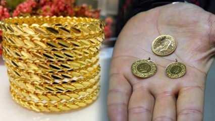 19 Haziran Altın fiyatları ne kadar oldu? Gram Altın Çeyrek Altın Bilezik alış satış fiyatları