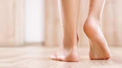 Ayak tabanı yanması neden olur? Ayak tabanı yanmasına doğal çözümler...