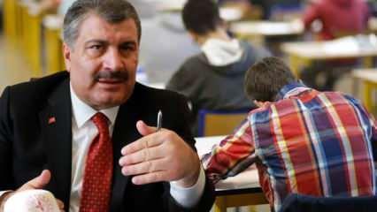Bakan Koca'dan talimat gibi LGS-YKS açıklaması! Sınava saatler kala bomba gelişme