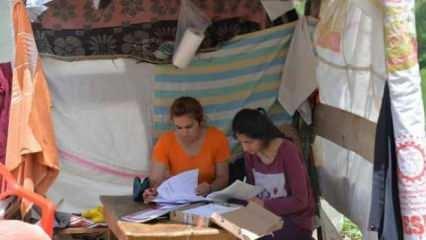 Bingöl'de depremzede gençlerin LGS ve YKS endişesi
