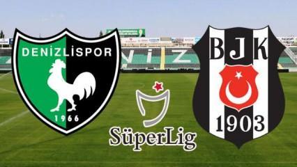 Denizlispor Beşiktaş maçı ne zaman, saat kaçta hangi kanalda? Muhtemel 11'ler belli oldu!