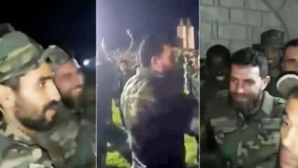 Olay görüntüler: Hafter, her yerde aranan caniden Türkiye'ye karşı yardım dilendi