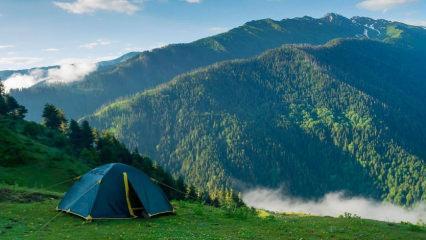 Tabiatın kalbinde İstanbul'a yakın en iyi 10 kamp yeri