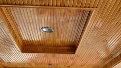 Lambiri tavan nedir? Lambiri tavanda hangi malzemeler kullanılır?
