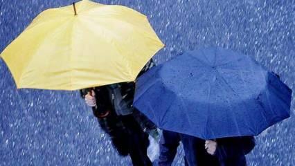 Meteoroloji'den 12 il için 'kuvvetli sağanak' uyarısı