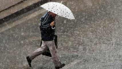 Meteoroloji'den 3 ilimiz için kuvvetli sağanak uyarısı!