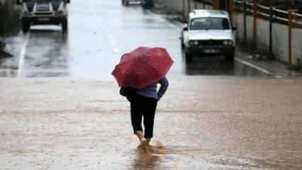 Meteoroloji'den önemli uyarı! 4 kente dikkat!