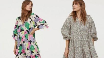 Sezonun dikkat çeken yazlık elbise modelleri