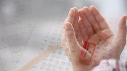 Sınav duası: Önemli bir sınava girmeden önce zihin açan sınav başarı duası