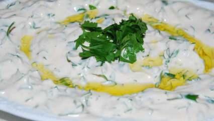 Tarator sos nasıl yapılır? Hakiki tarator sos tarifi