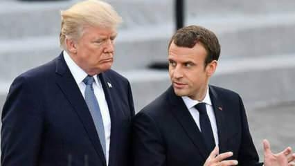 ABD Başkanı Trump'tan Macron hakkında sert sözler