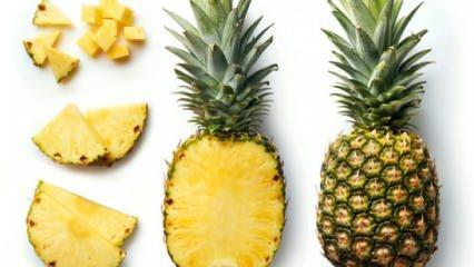 Ananasın faydaları nelerdir? Ananas diyeti zayıflatır mı?