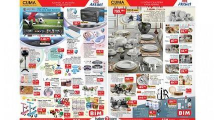 BİM 26 Haziran aktüel kataloğu | Bugüne özel elektronik, yemek takımı ve tekstil ürünlerinde..