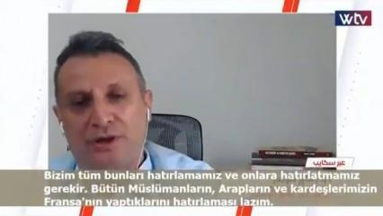 Cengiz Tomar'dan Libya'da Türkiye'yi eleştirenlere Osmanlı üzerinden tokat gibi cevap