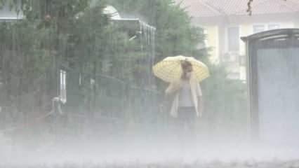 Meteoroloji'den o illere uyarı! Sağanak etkili olacak