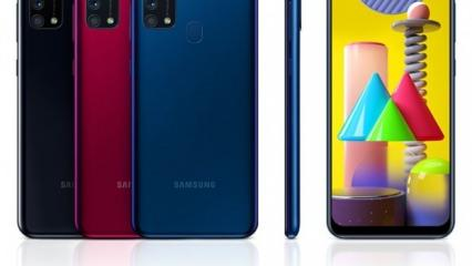 Samsung Galaxy M31s dev bataryayla geliyor
