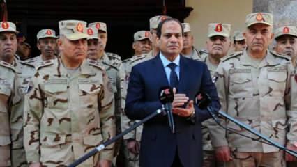 Komutanları yanına alan Sisi'den Mısır Ordusuna korkunç talimat