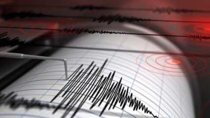 Son dakika: Çankırı'da korkutan deprem!