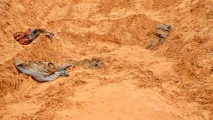 UCM harekete geçti: Libya'da 11 toplu mezar bulundu!