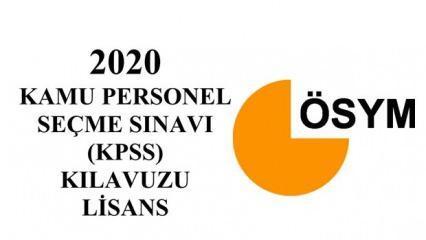 2020 KPSS kılavuzu yayımlandı!  KPSS Memurluk Sınavı Lisans ve Alan başvuru ücretleri