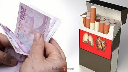 Sigaraya zam yapıldı! 9 Temmuz en ucuz sigara fiyatı ne kadar oldu?