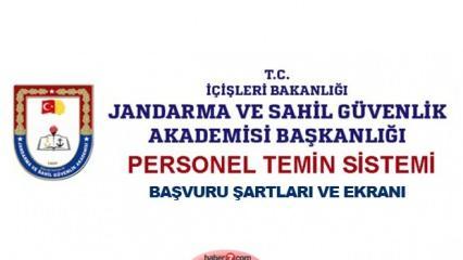 Jandarma ve Sahil Güvenlik Akademisi başvuruları devam ediyor!