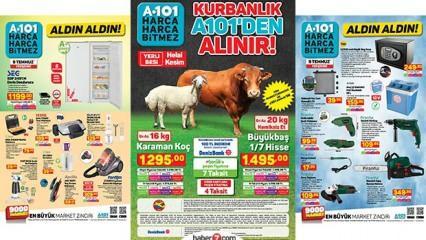 A101 aktüel kataloğu! 9 Temmuz bugün Derin dondurucu, elektronik ve mobilya ürünlerinde...
