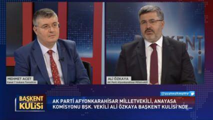 Sosyal medya düzenlemesi ne getirecek: AK Partili Ali Özkaya Başkent Kulisi'nde açıkladı