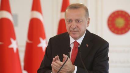 Başkan Erdoğan'dan haritalı paylaşım: Gelecek nesillerimize miras olacak