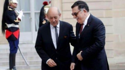 Fransa Dışişleri Bakanı Le Drian, Libya Başbakanı Serrac'la telefonda görüştü