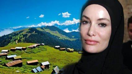 Gamze Özçelik tatil için Karadeniz'i seçti: Sanırım öldüm cennette uyandım!