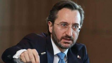 Erdoğan'ın sözlerini çarpıtmışlardı, Fahrettin Altun'dan tepki!
