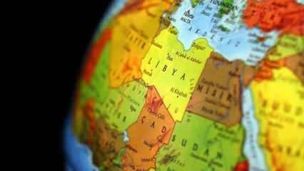 İletişim Başkanlığı'ndan dikkat çeken Libya haritası paylaşımı