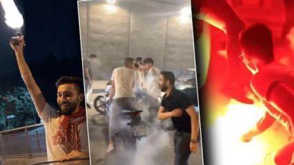 İstanbul'da dehşete düşüren görüntüler!