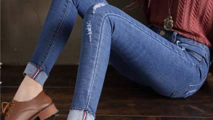 Kot pantolonların formunu  korumak için ne yapılır?
