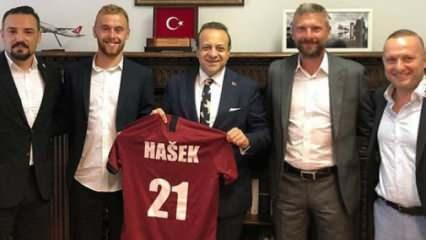Martin Hasek'ten Egemen Bağış'a ziyaret!