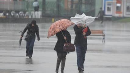 Meteorolojiden çok sayıda il için son dakika uyarısı: Çok kuvvetli geliyor