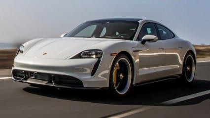 Elektrikli Porsche Taycan'dan rekor geldi