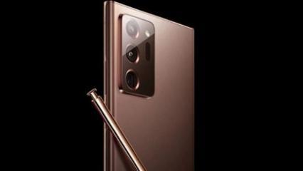 Samsung Galaxy Note 20 Ultra'nın görselleri sızdırıldı