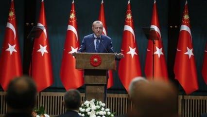 Son dakika haberi: Başkan Erdoğan kritik toplantı sonrası yeni kararları açıkladı!