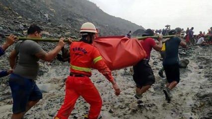 Myanmar'da yeşim madeninde felaket: Ölü sayısı 162'ye yükseldi