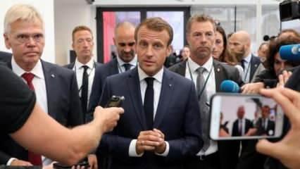 Macron'dan ağır darbe sonrası haddi aşan Türkiye açıklaması!